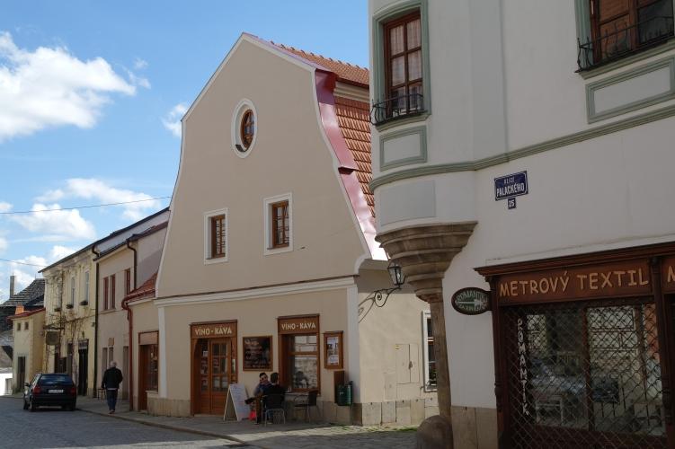 Pensino Hradební, ubytování v centru Telče